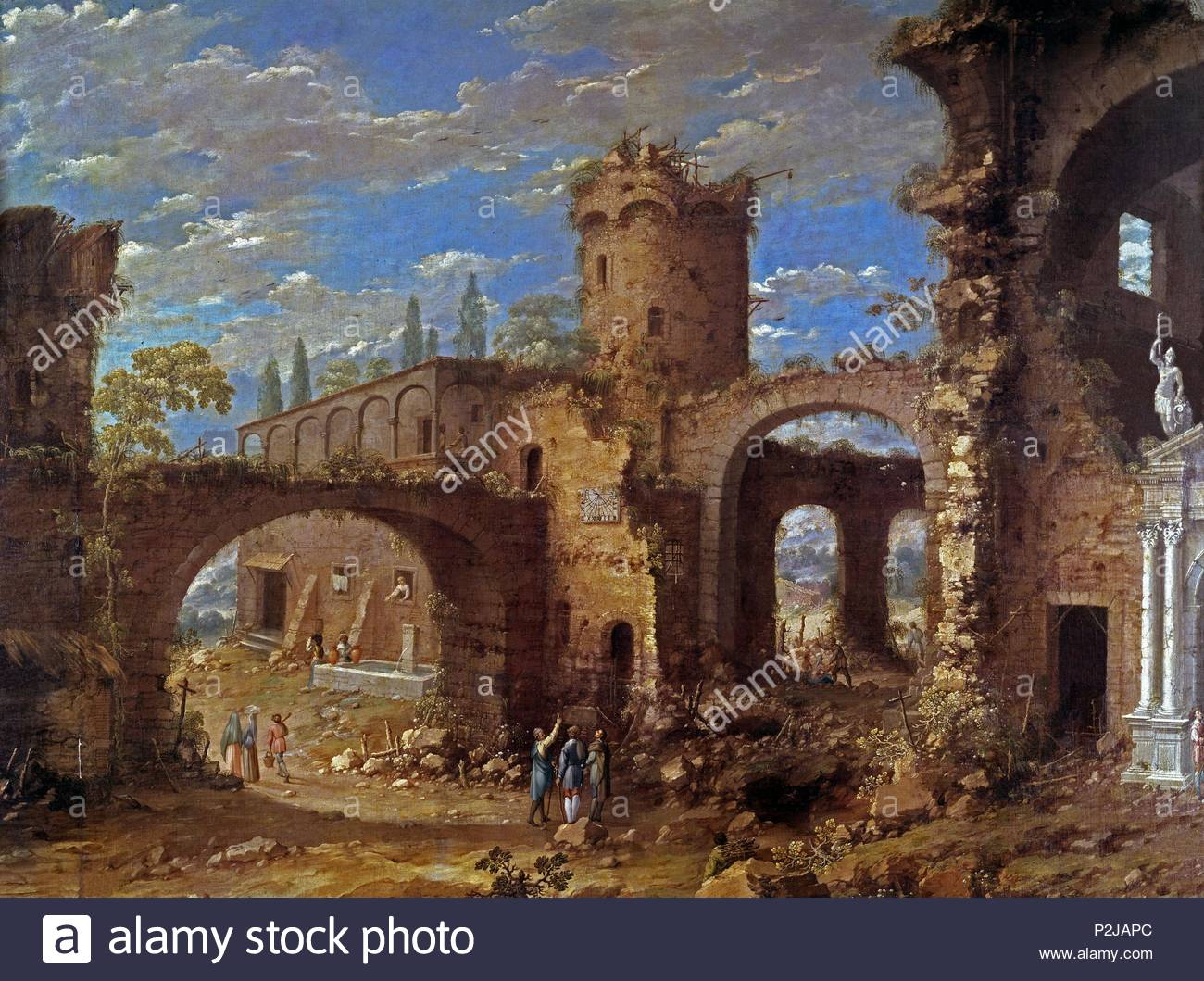 By Hubert Robert 1733 1808 Stock Photos Amp By Hubert Robert