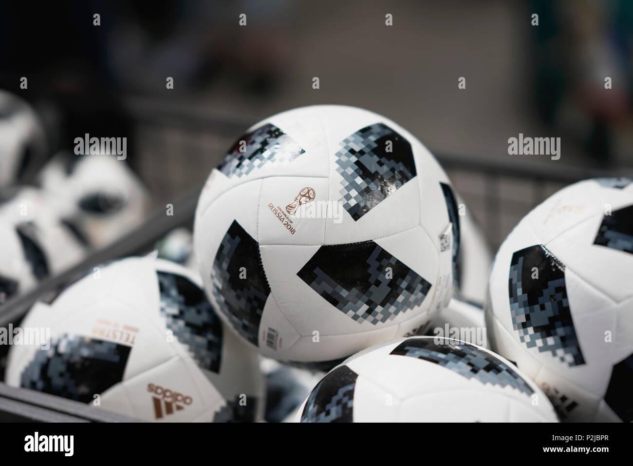 68614ba00 Fifa World Cup 2018 Adidas Telstar Football Stock Photos & Fifa ...