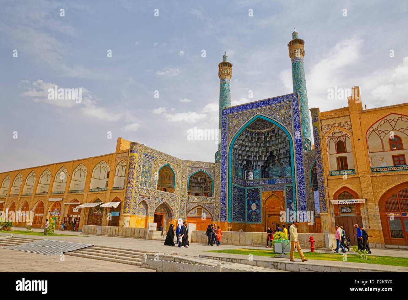 Isfahan Shah Mosque - Stock Image