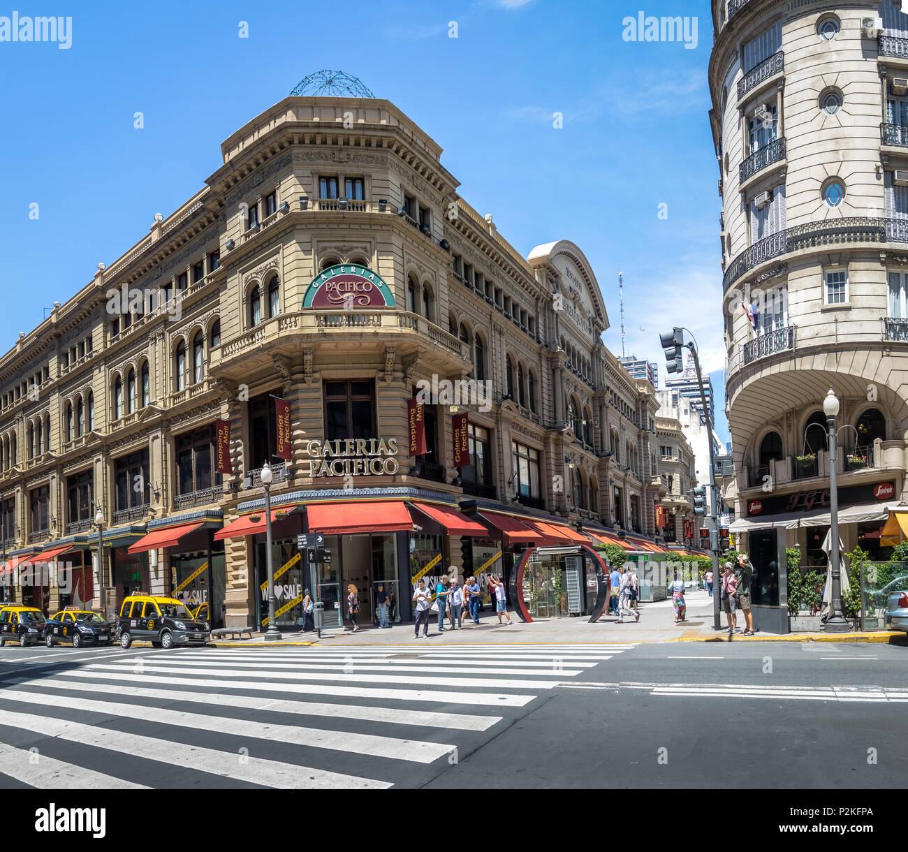 Galerias Pacifico: Florida Street Buenos Aires Stock Photos & Florida Street