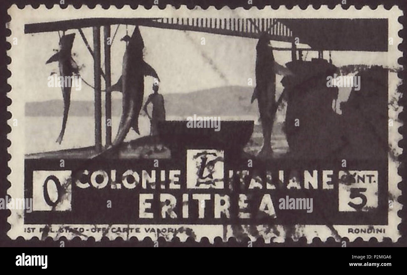 Stamp Of Italian Eritrea 1933 Definitive The Issue African Scenes