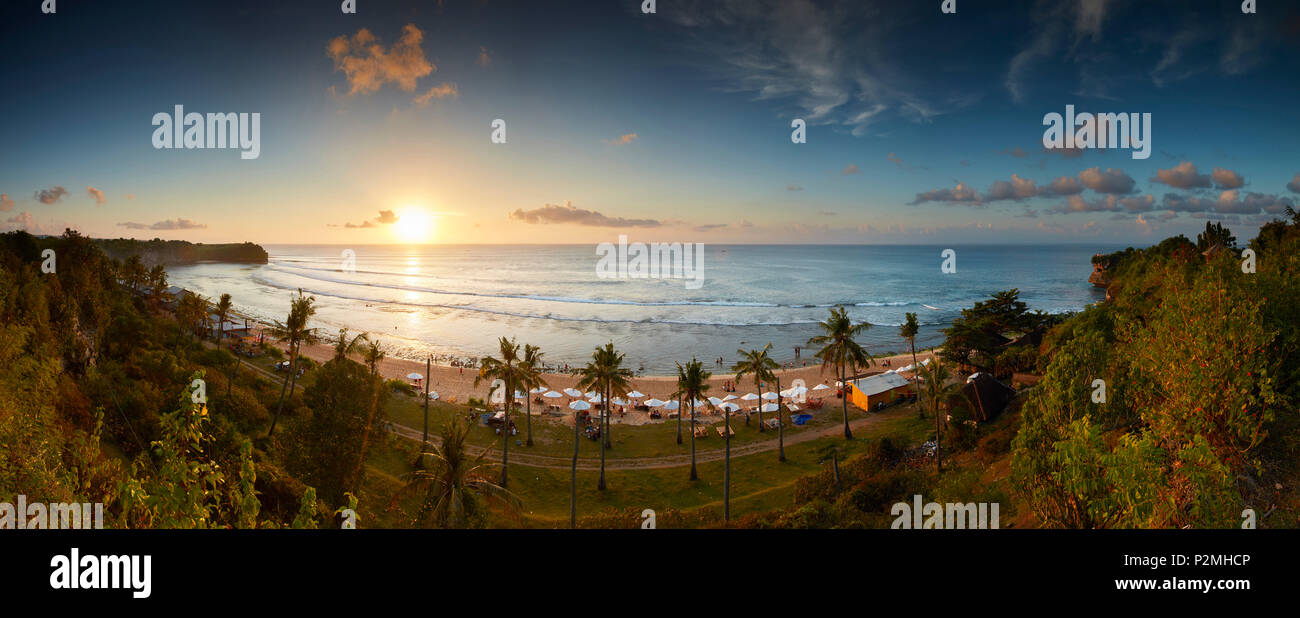 Balangan Beach, Bali, Indonesia, Asia, Indian Ocean - Stock Image