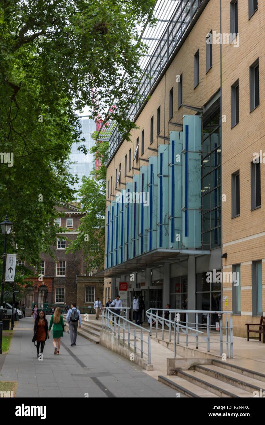 kings college, guys hospital, London, England, uk. - Stock Image