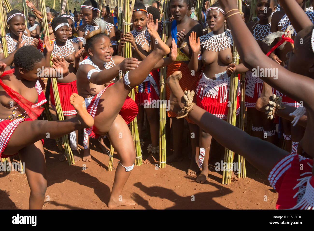 naked women reed dance bathing