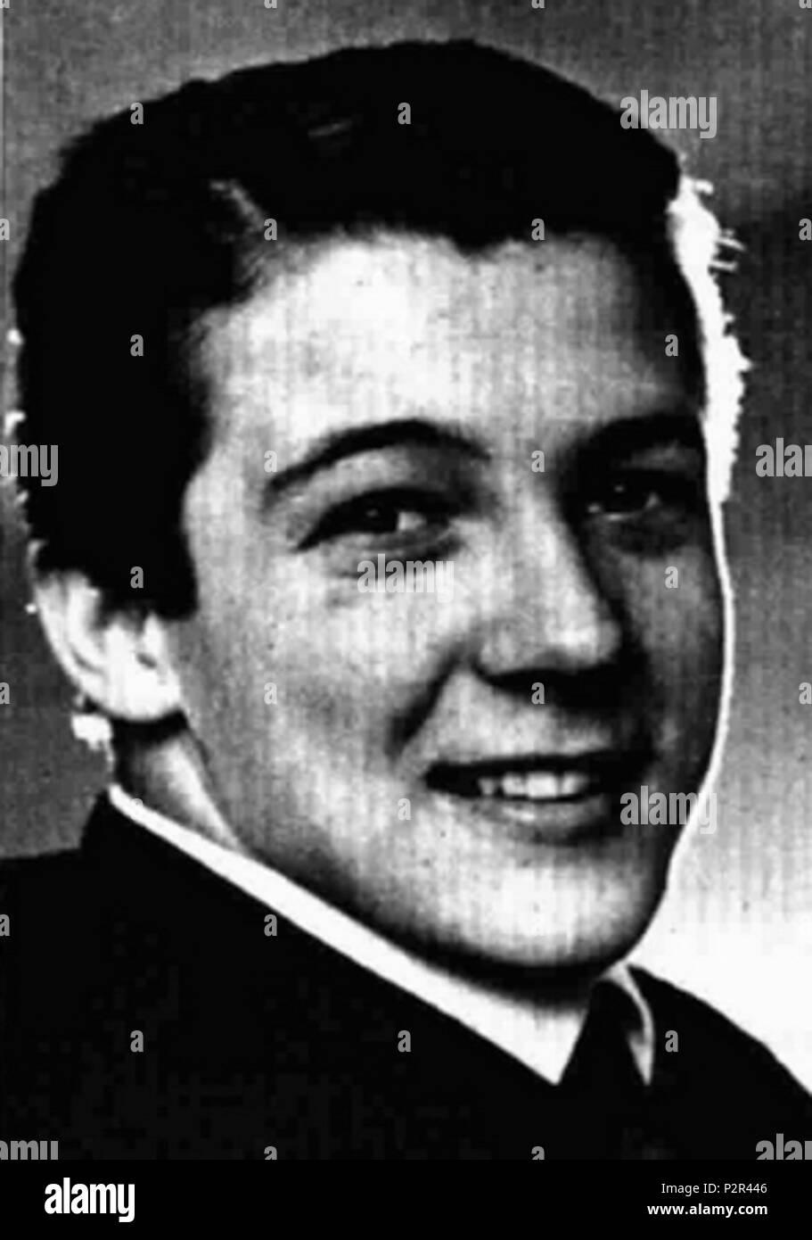 . Italian singer Robertino . May 1964. Unknown 76 Robertino - Stock Image
