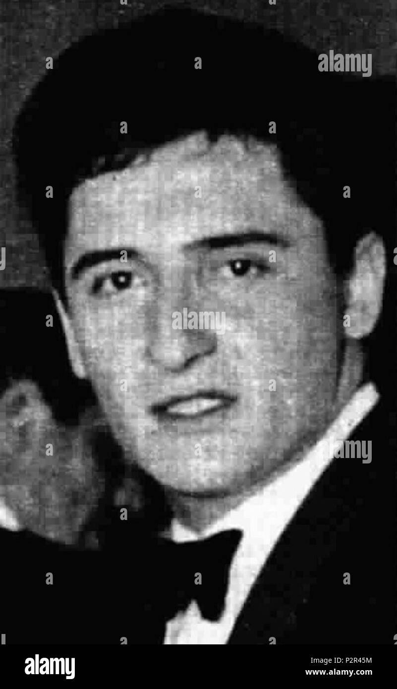 . Italian singer Pino Donaggio . May 1964. Unknown 23 Donaggio - Stock Image