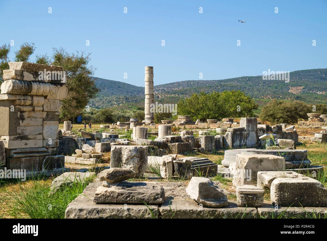 Temple Of Hera Samos High Resolution Stock Photography And Images Alamy