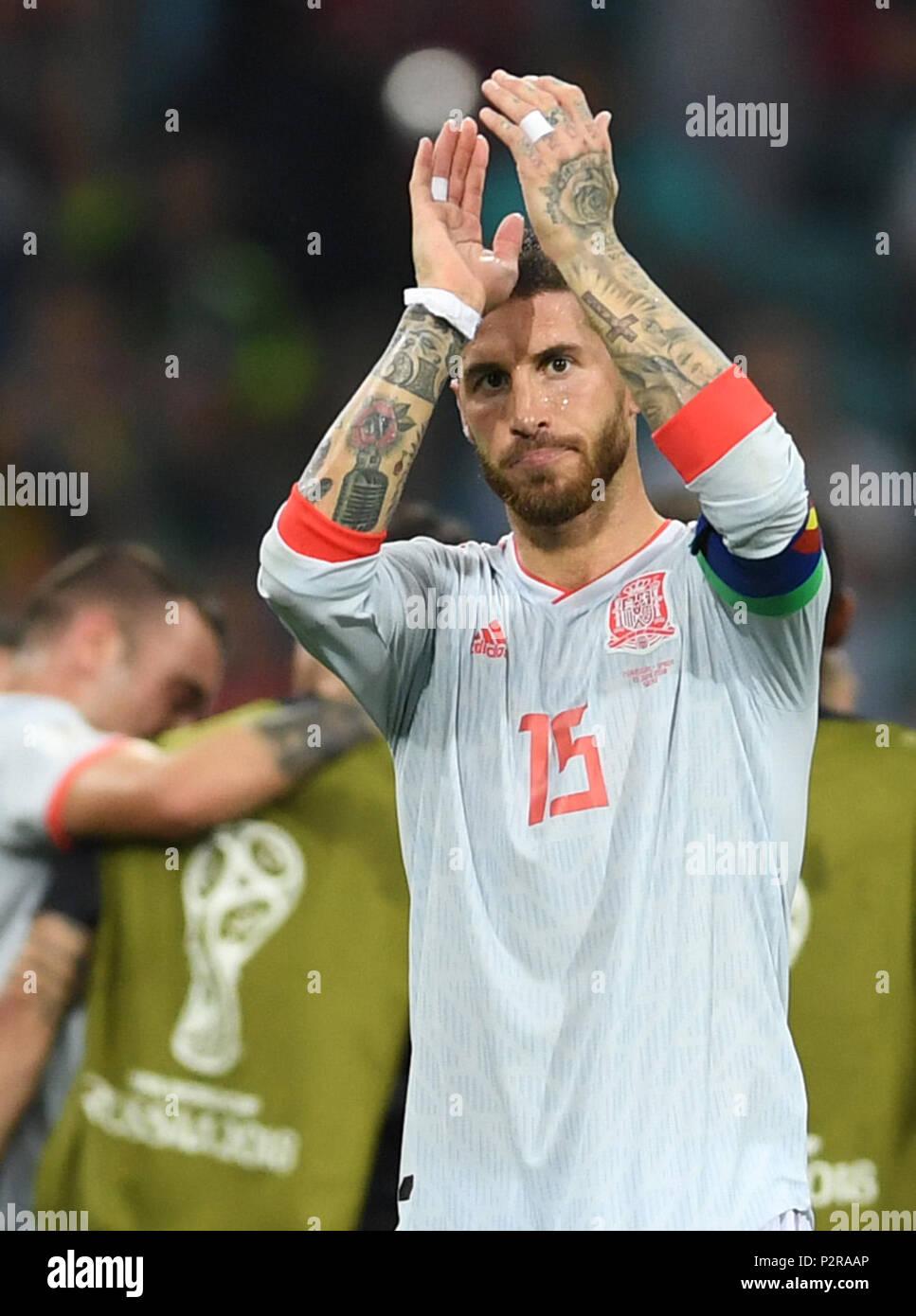 a4697de9265 15 June 2018, Russia, Sotchi, Soccer, FIFA World Cup 2018, Matchday