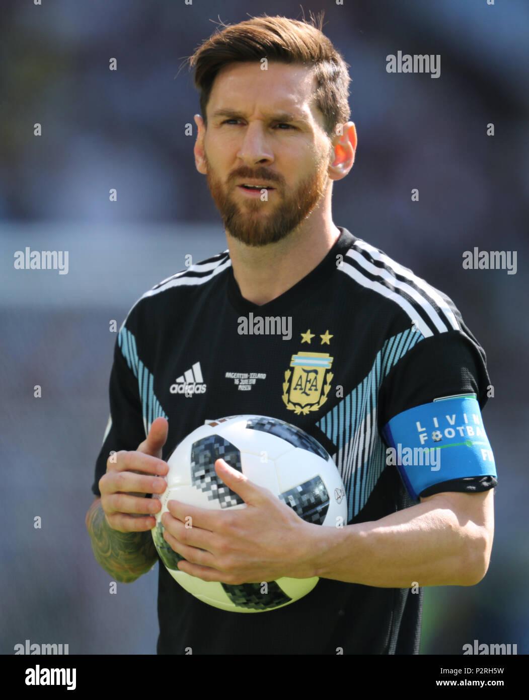 Lionel Messi ARGENTINA ARGENTINA V ICELAND, 2018 FIFA WORLD CUP