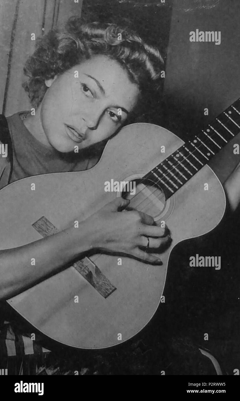 . Italian singer Nilla Pizzi . May 1964. Unknown 65 Nilla pizzi - Stock Image
