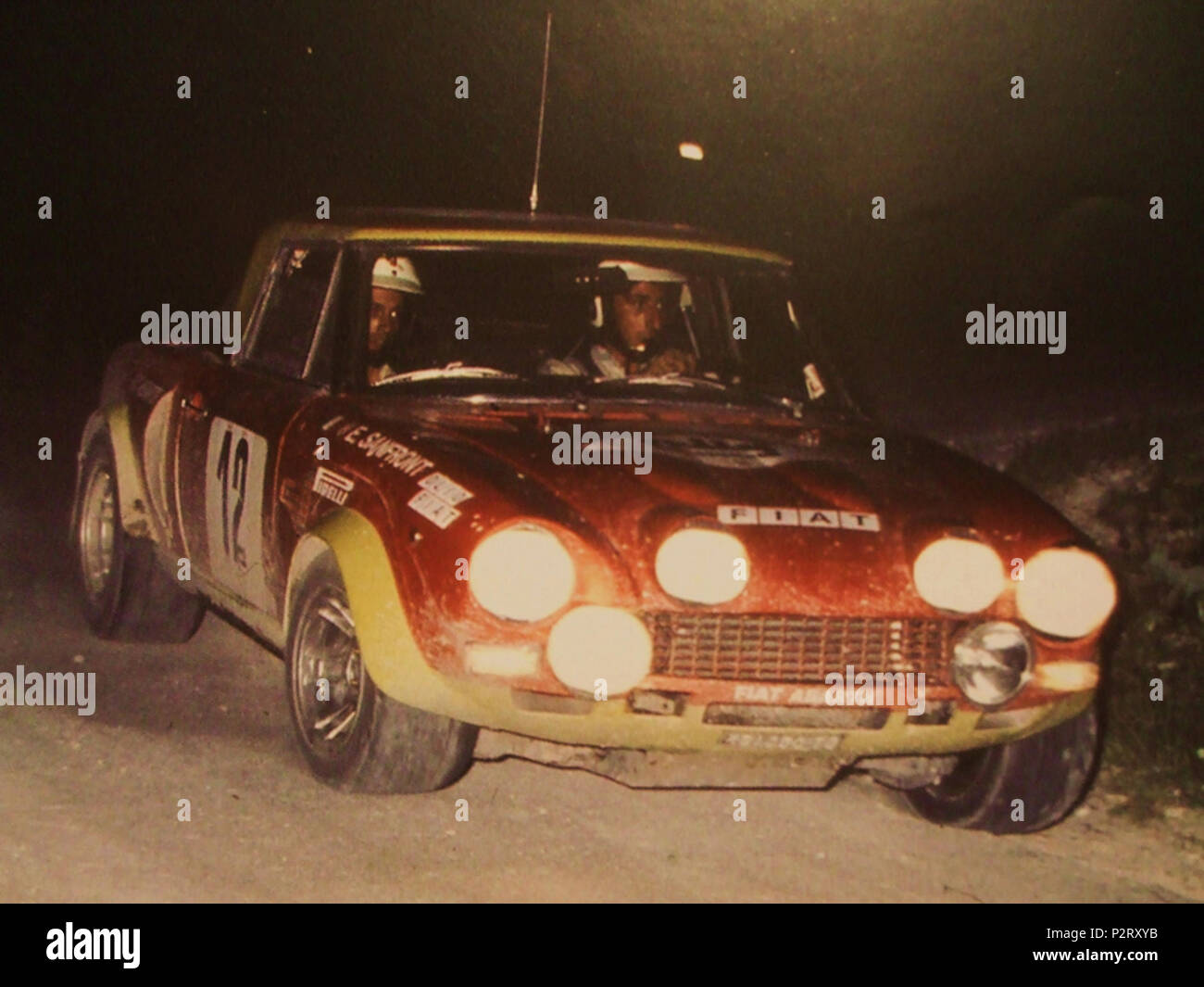 Fiat 124 Abarth Stock Photos Fiat 124 Abarth Stock Images Alamy