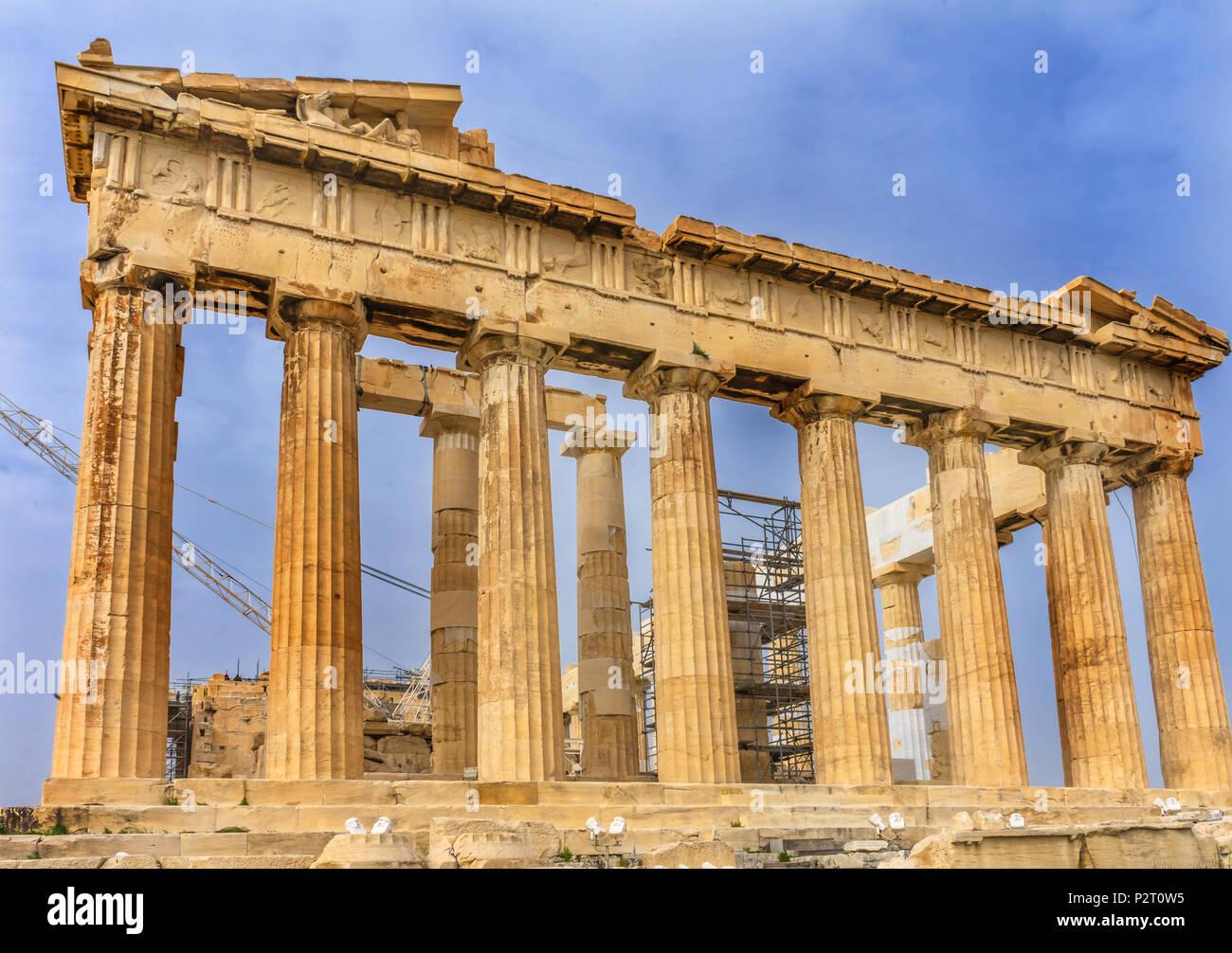 Temple Of Athena Stock Photos Temple Of Athena Stock Images Alamy