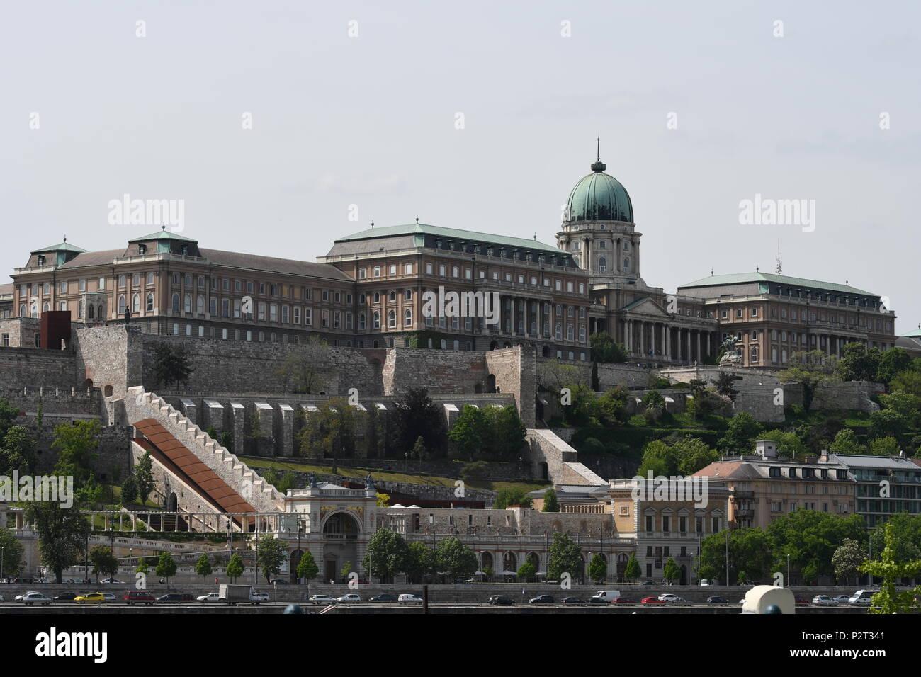 Buda Castle Budapest Stock Photo