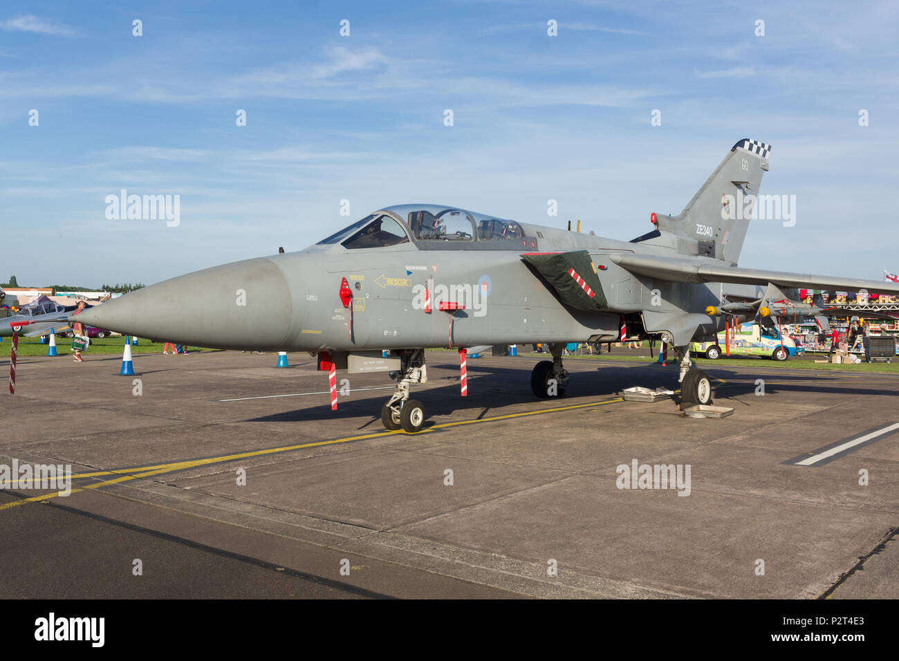 Panavia Tornado F3 of the Royal Air Force. A multi role combat aircraft introduced in the 1970s - Stock Image