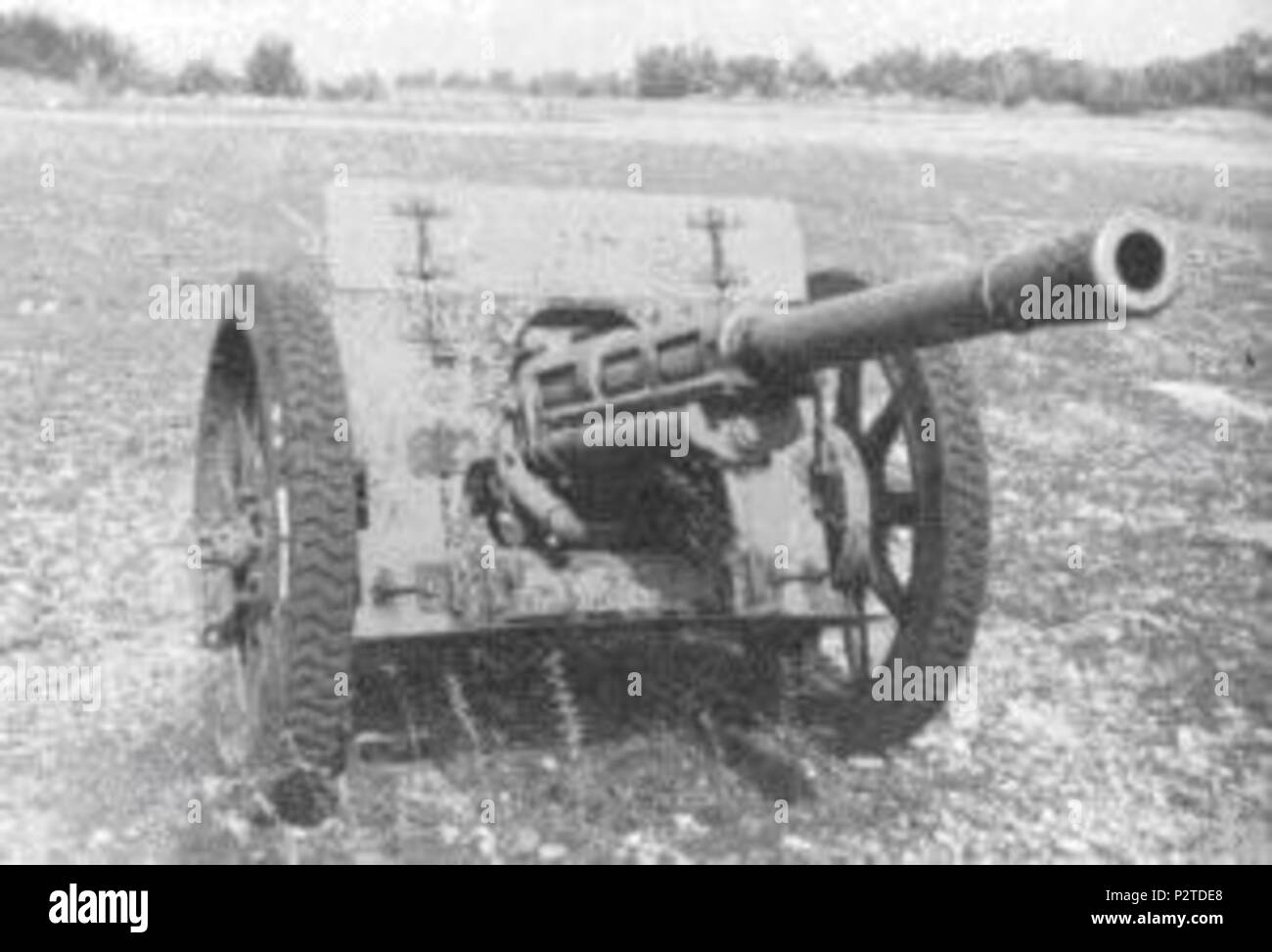 English: Italian WWII anti-tank gun   1937  Regio Esercito