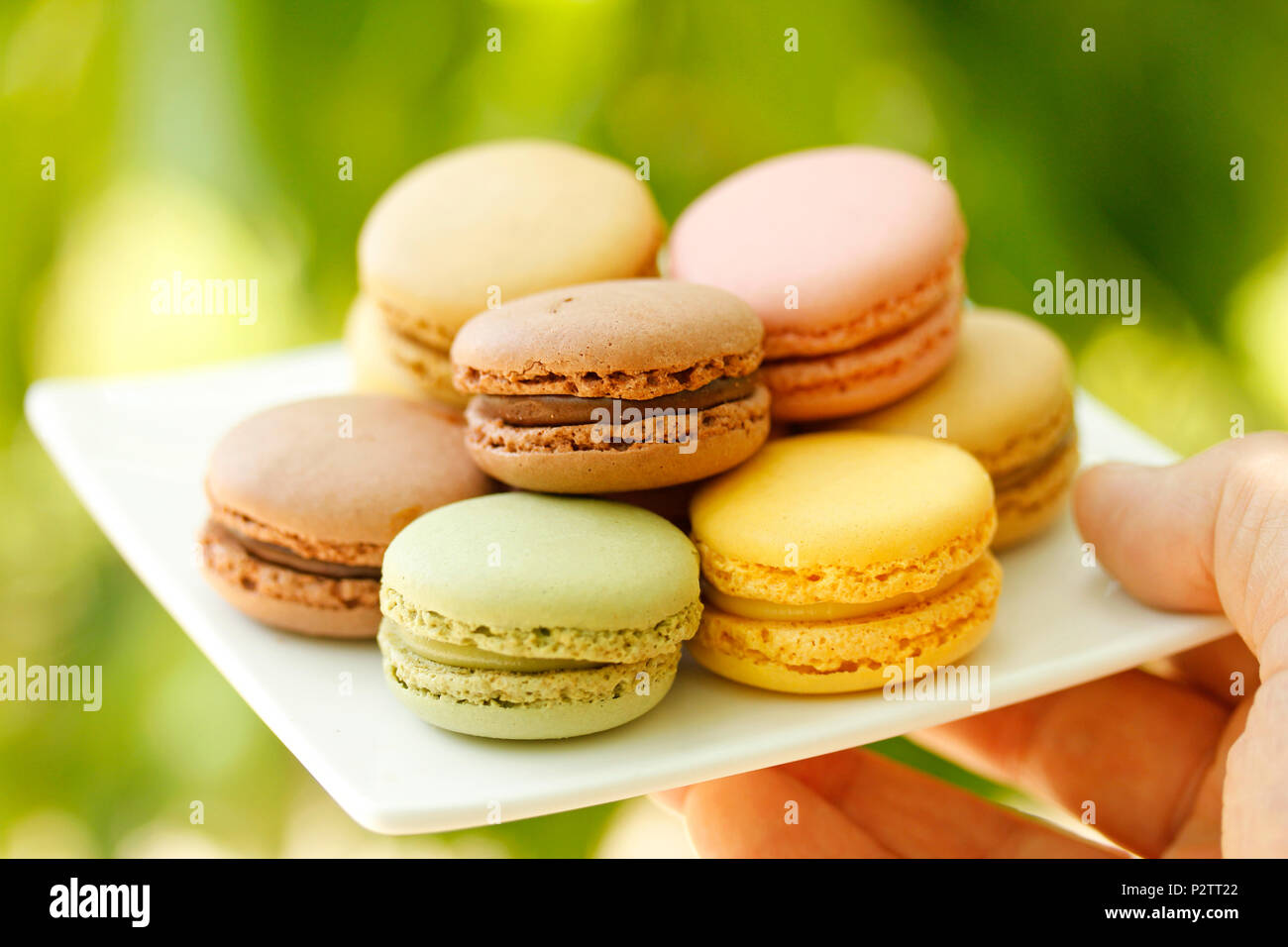 Macarons. - Stock Image