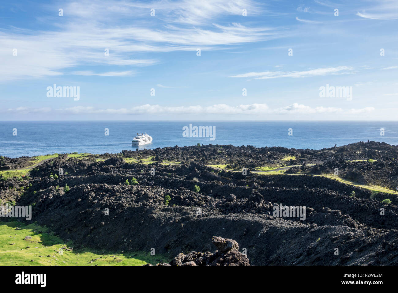 Tristan da Cunha, British Overseas Territories, South Atlantic Ocean - Stock Image