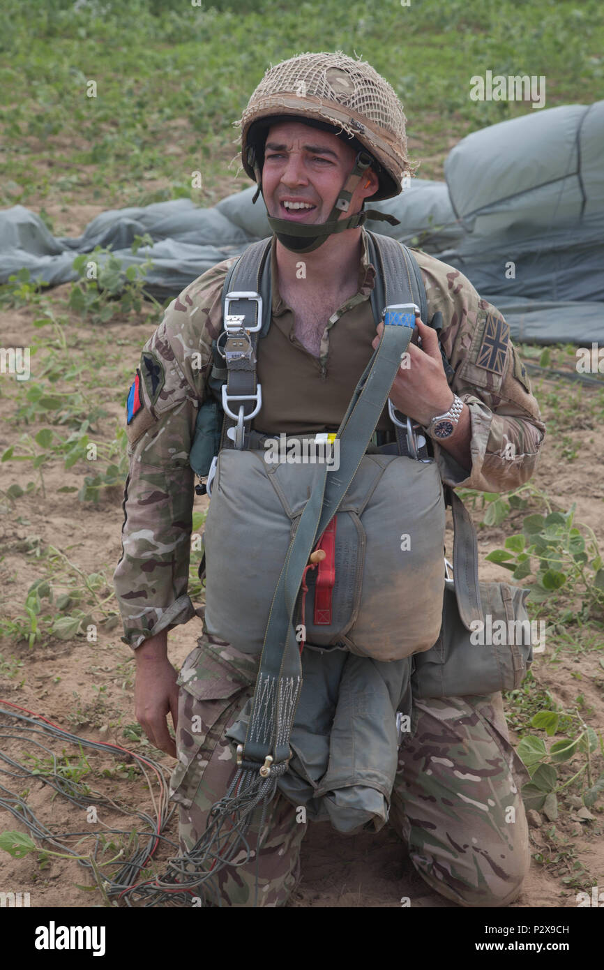 British Army Paratrooper Capt  James Walker-McClimens, 7