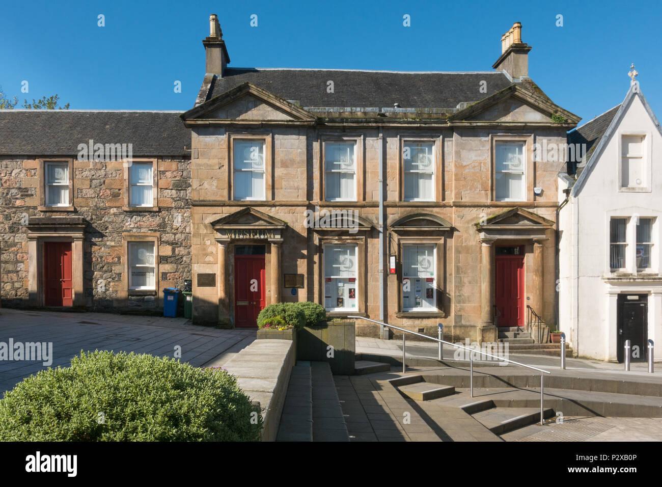 West Highland Museum, Fort William, Scotland, UK Stock Photo