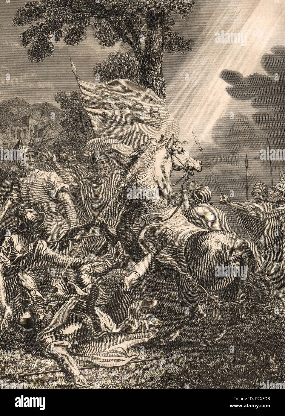 The Conversion of Saint Paul, AD 33-36 - Stock Image