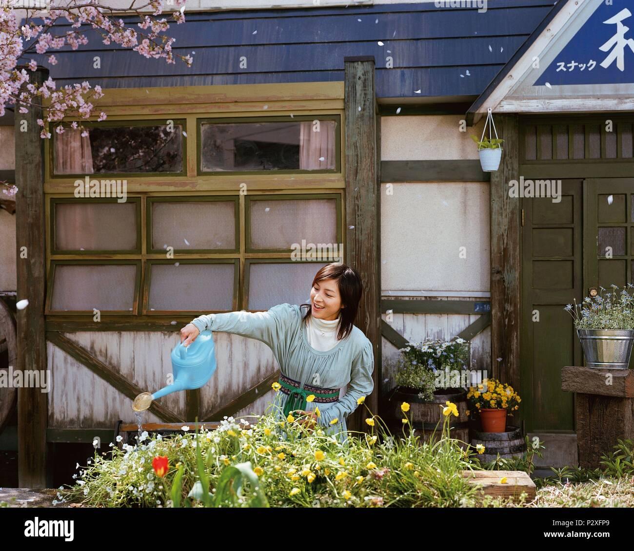 Original Film Title: OKURIBITO.  English Title: DEPARTURES.  Film Director: YOJIRO TAKITA.  Year: 2008.  Stars: RYOKO HIROSUE. Credit: AMUSE SOFT ENTERTAINMENT/ASAHI SHIMBUNSHA/DENTSU / Album - Stock Image