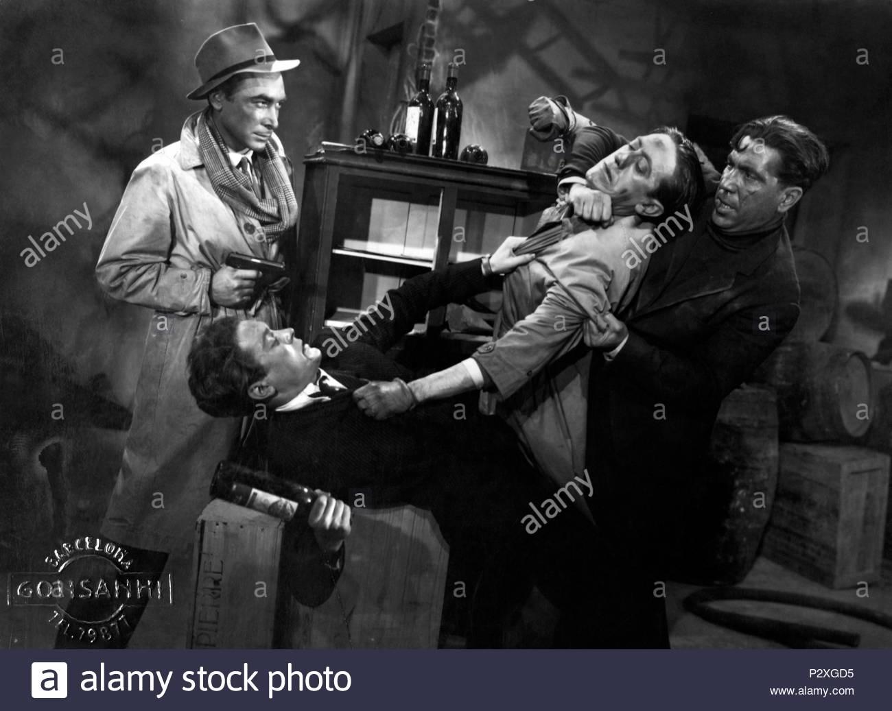 Original Film Title: HOMBRES SIN HONOR.  English Title: HOMBRES SIN HONOR.  Film Director: IGNACIO F. IQUINO.  Year: 1944. Credit: EMISORA FILMS / Album - Stock Image