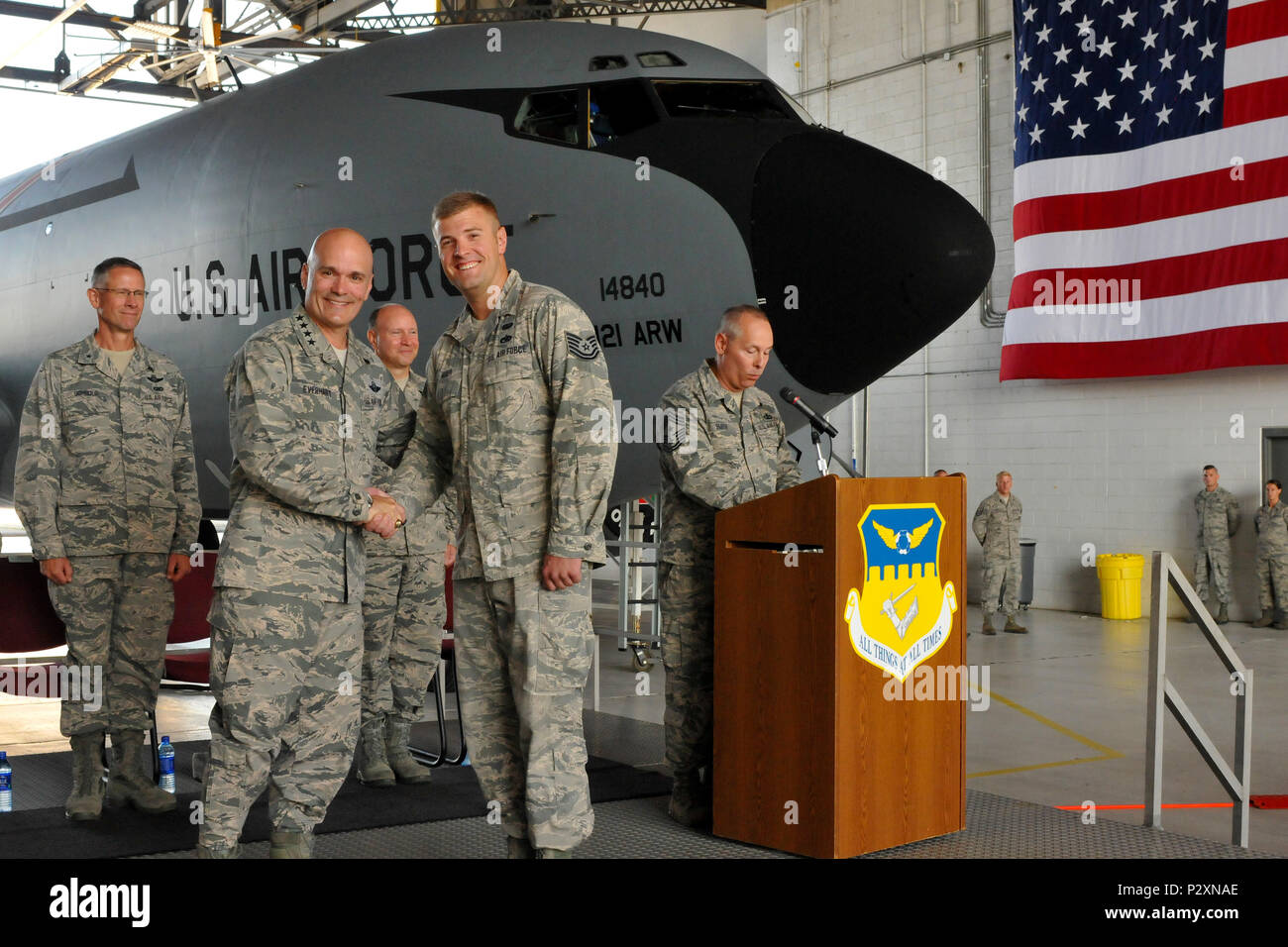 U S  Air Force Gen  Carlton D  Everhart II, Air Mobility
