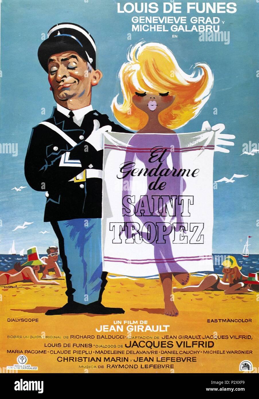 Original Film Title Le Gendarme De St Tropez English
