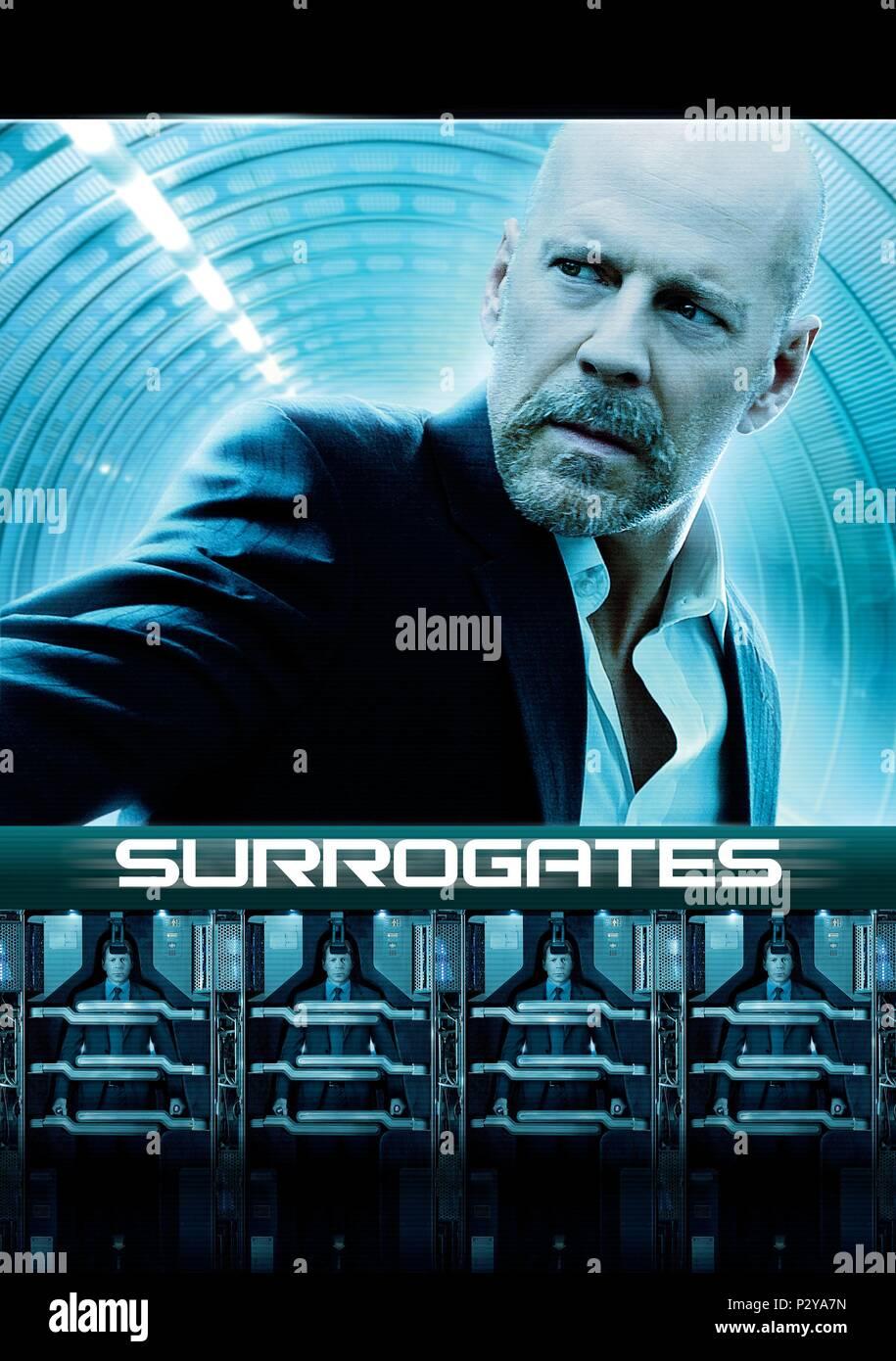 Original Film Title: SURROGATES.  English Title: SURROGATES.  Film Director: JONATHAN MOSTOW.  Year: 2009. Credit: TOUCHSTONE PICTURES / Album Stock Photo