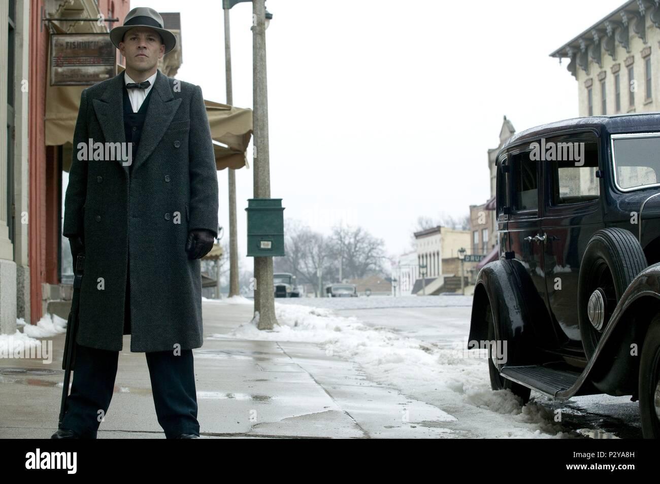 Original Film Title: PUBLIC ENEMIES.  English Title: PUBLIC ENEMIES.  Film Director: MICHAEL MANN.  Year: 2009. Credit: TRIBECA PRODUCTIONS / Album - Stock Image