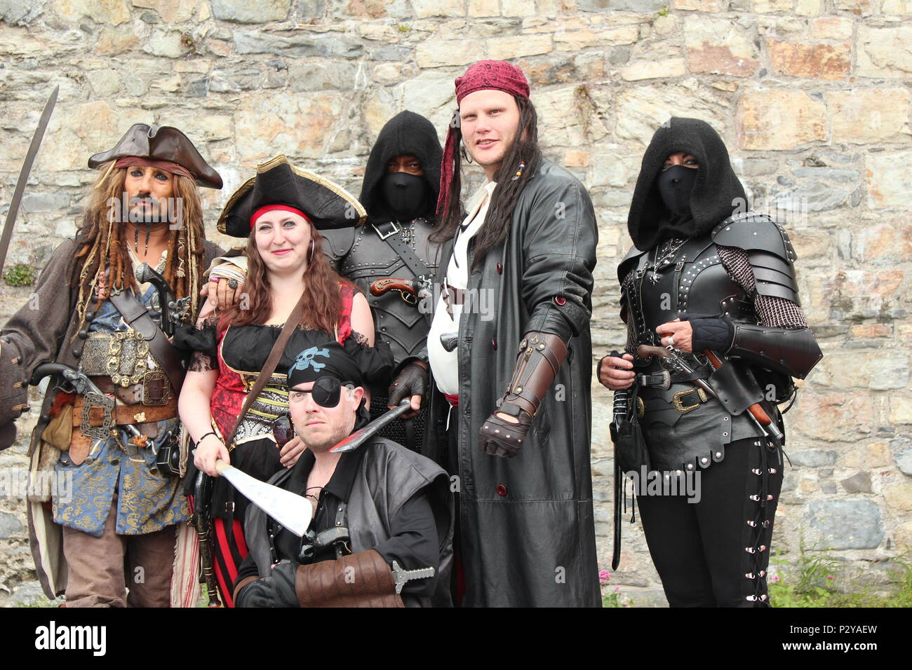 Conwy Pirate Stock Photos & Conwy Pirate Stock Images - Alamy