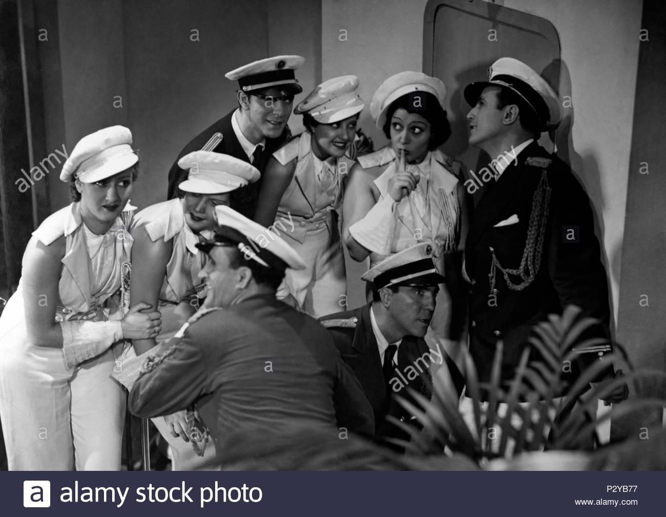 Original Film Title: ABAJO LOS HOMBRES.  English Title: ABAJO LOS HOMBRES.  Film Director: JOSE MARIA CASTELLVI.  Year: 1935. Credit: EDICI / Album - Stock Image