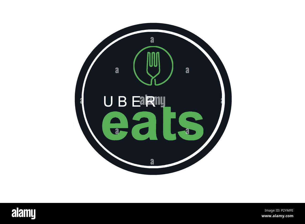 Portugal Lisbon June 16 2018 Illustration Of The Uber Eats Logo