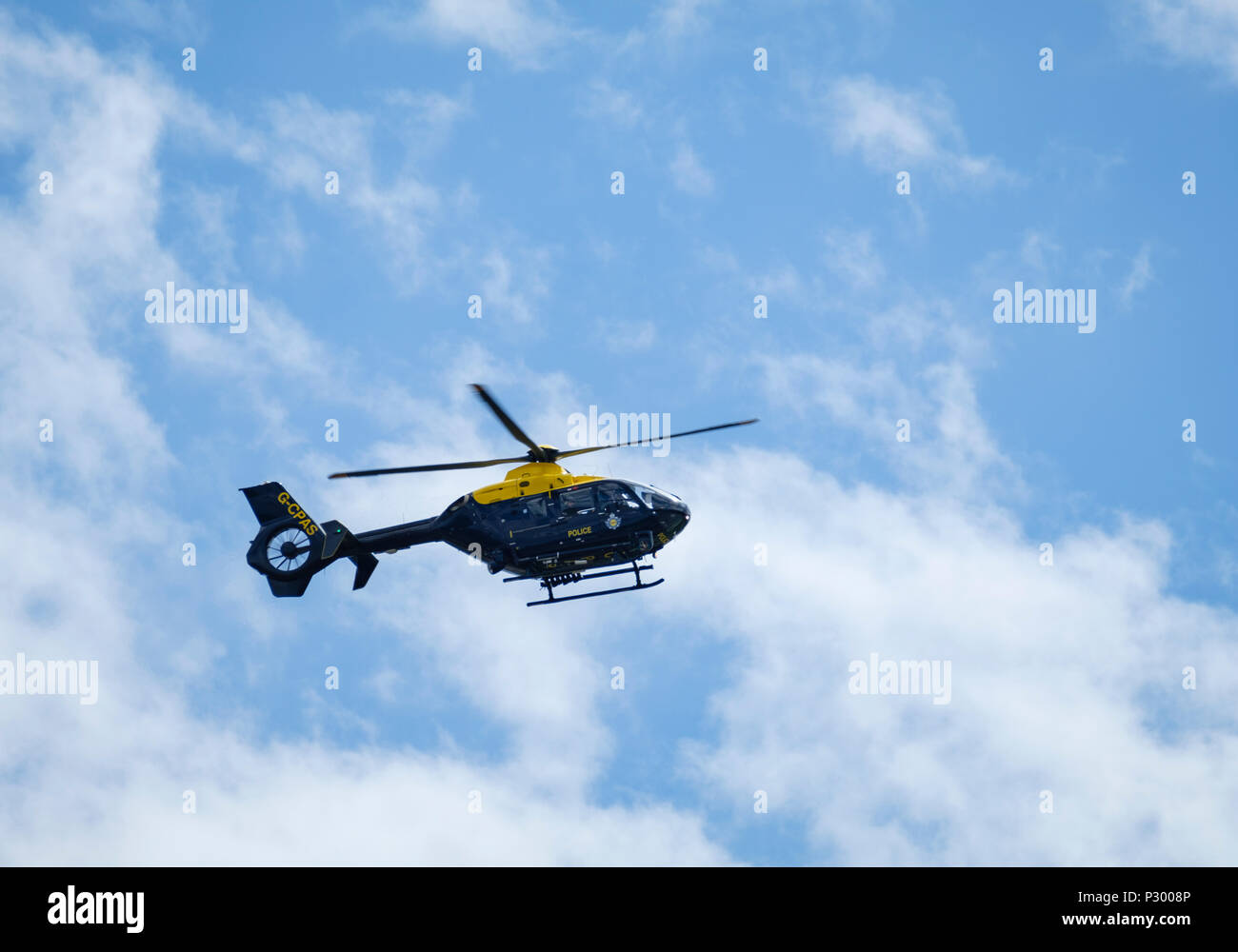 G-CPAS UK Police Aviation Eurocopter EC135 - Stock Image
