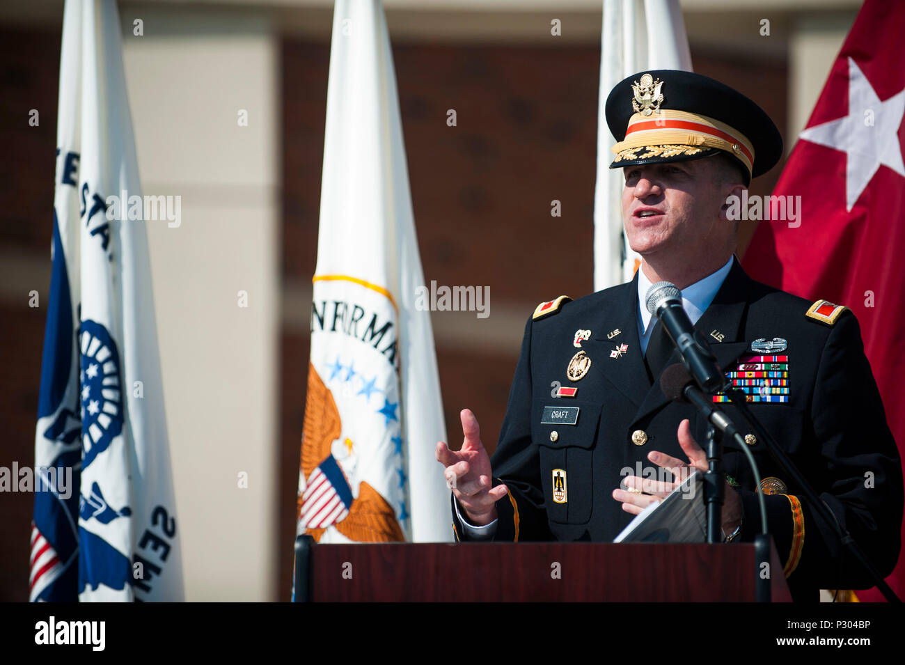 U S  Army Col  Paul Craft, Defense Information Systems