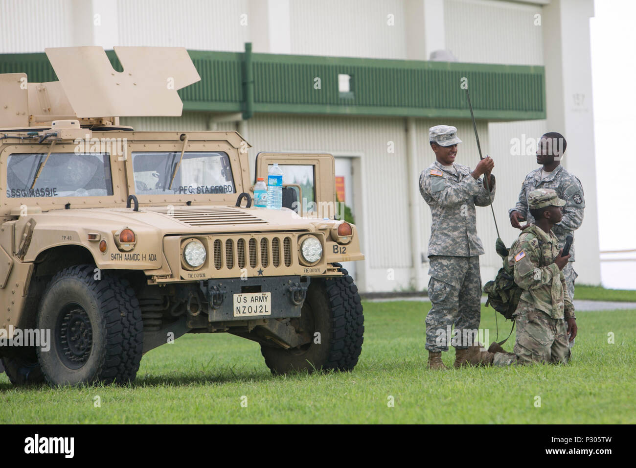 Us Army Soldiers With Bravo Battery 1 1 Air Defense Artillery
