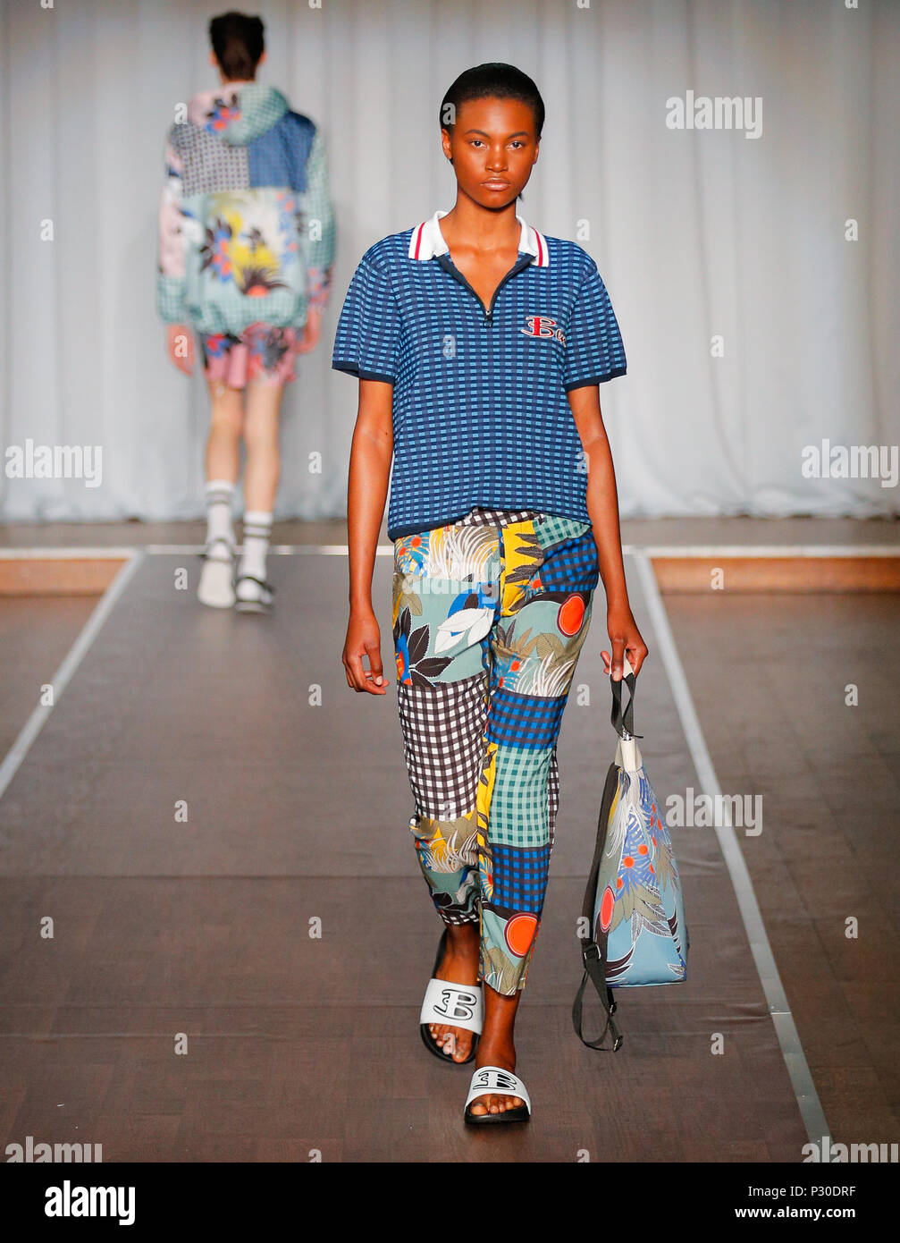 London Fashion Week Mens British designer Ben ...