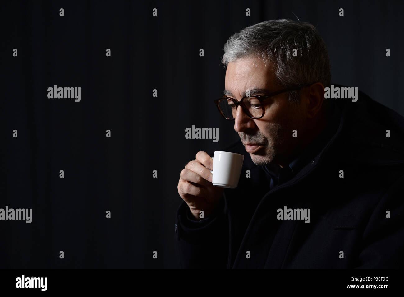 Berlin, Germany, Didier Eribon, French philosopher - Stock Image