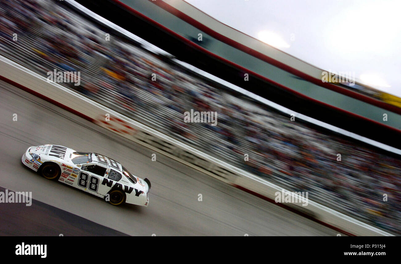 Bristol Tenn March 15 2008 Motorsports Driver Brad Keselowski Lap Mini Motors His Way Through Turns Three And Four In The 88 Navy Chevrolet Monte Carlo During Nascar Nationwide Series Sharpie 300