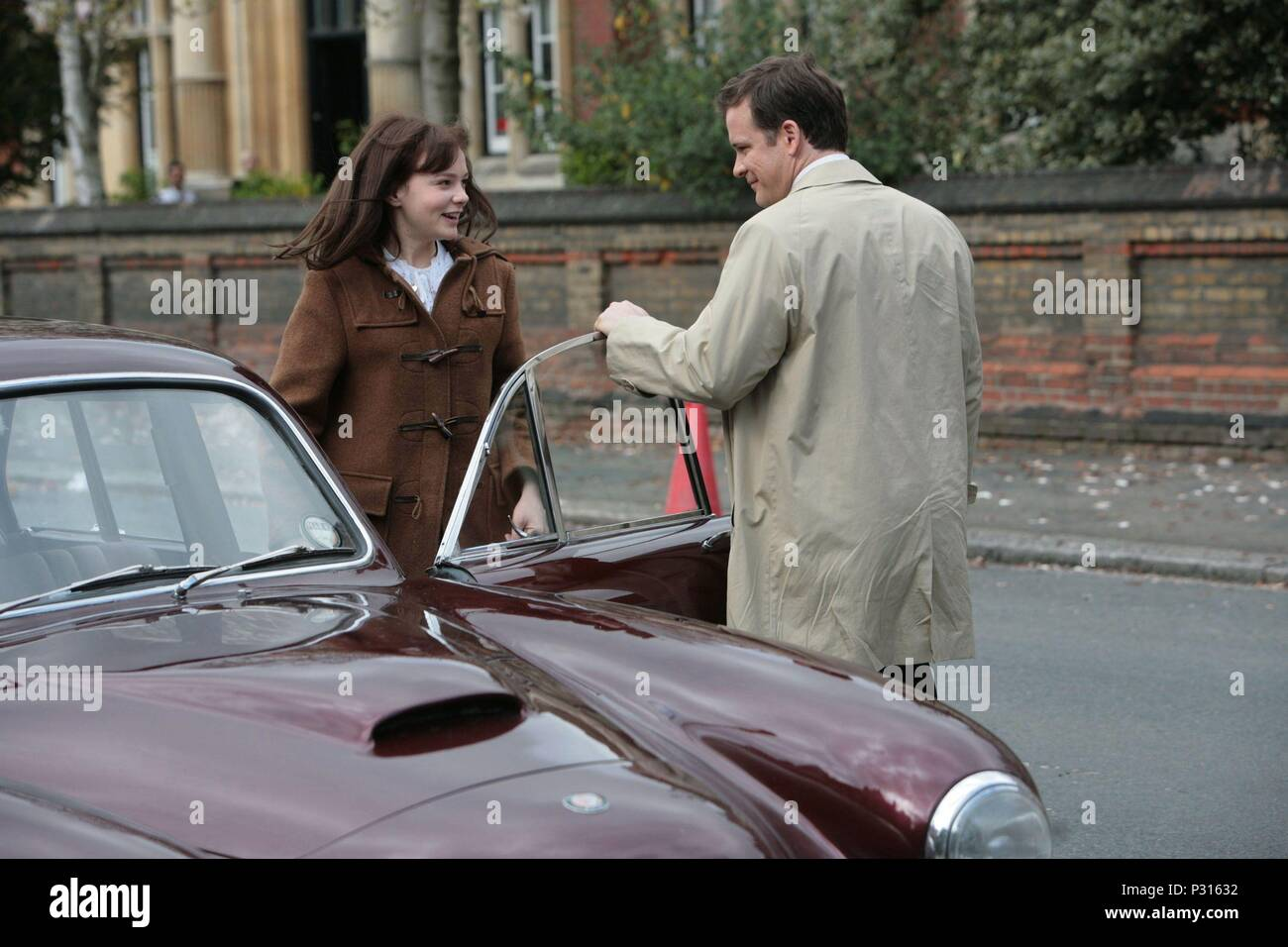 Original Film Title: AN EDUCATION.  English Title: AN EDUCATION.  Film Director: LONE SCHERFIG.  Year: 2009.  Stars: PETER SARSGAARD; CAREY MULLIGAN. Credit: BBC FILMS / Album - Stock Image