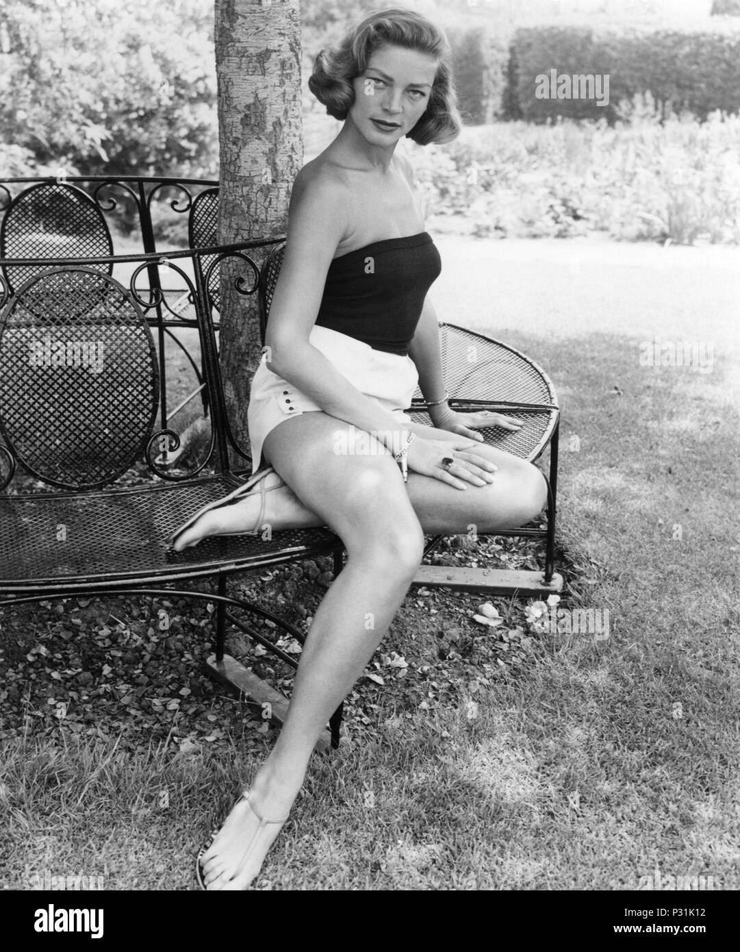 Year: 1955. Stars: LAUREN BACALL Stock Photo - Alamy