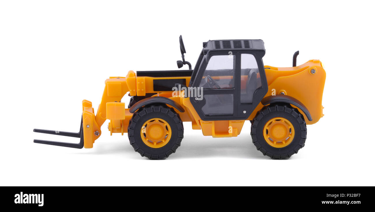 The Forklift scale model. - Stock Image