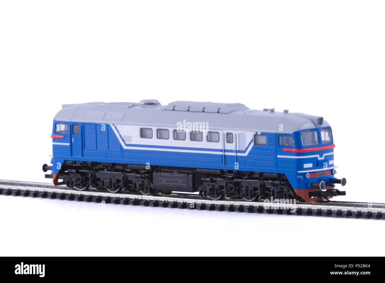 The Diesel locomotive. - Stock Image