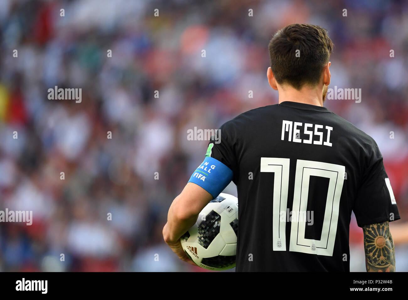 Fifa World Cup 2018 Argentina Vs Iceland Stock Photos   Fifa World ... 8185f9eba0480