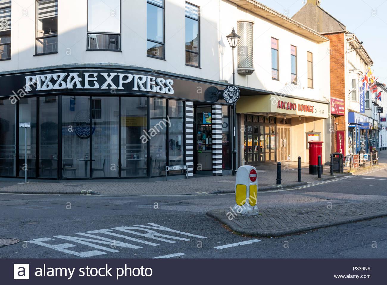 Pizza Express High Street Christchurch Dorset England