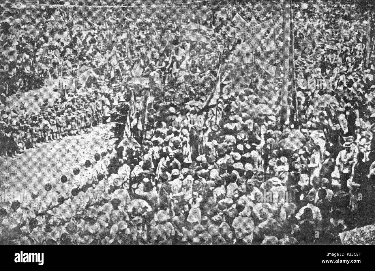 062 may 28 1919 Armenia celebration - Stock Image
