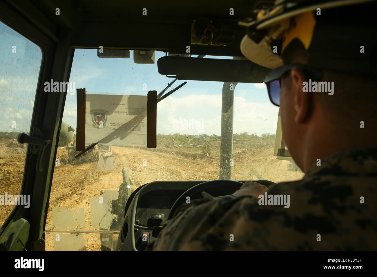 Heavy Equipment Operator Marine Wing Stock Photos & Heavy