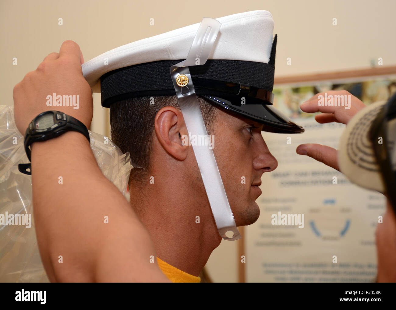PATUXENT RIVER, Maryland (Aug  12, 2016) - Chief Naval Air Crewman
