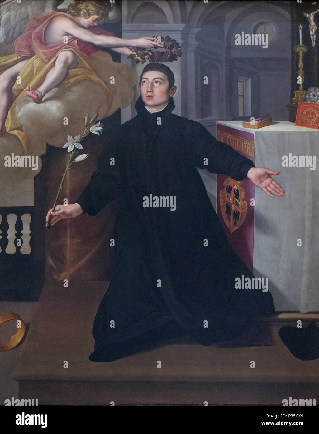Saint Aloysius Gonzaga Altarpiece In Mantua Cathedral