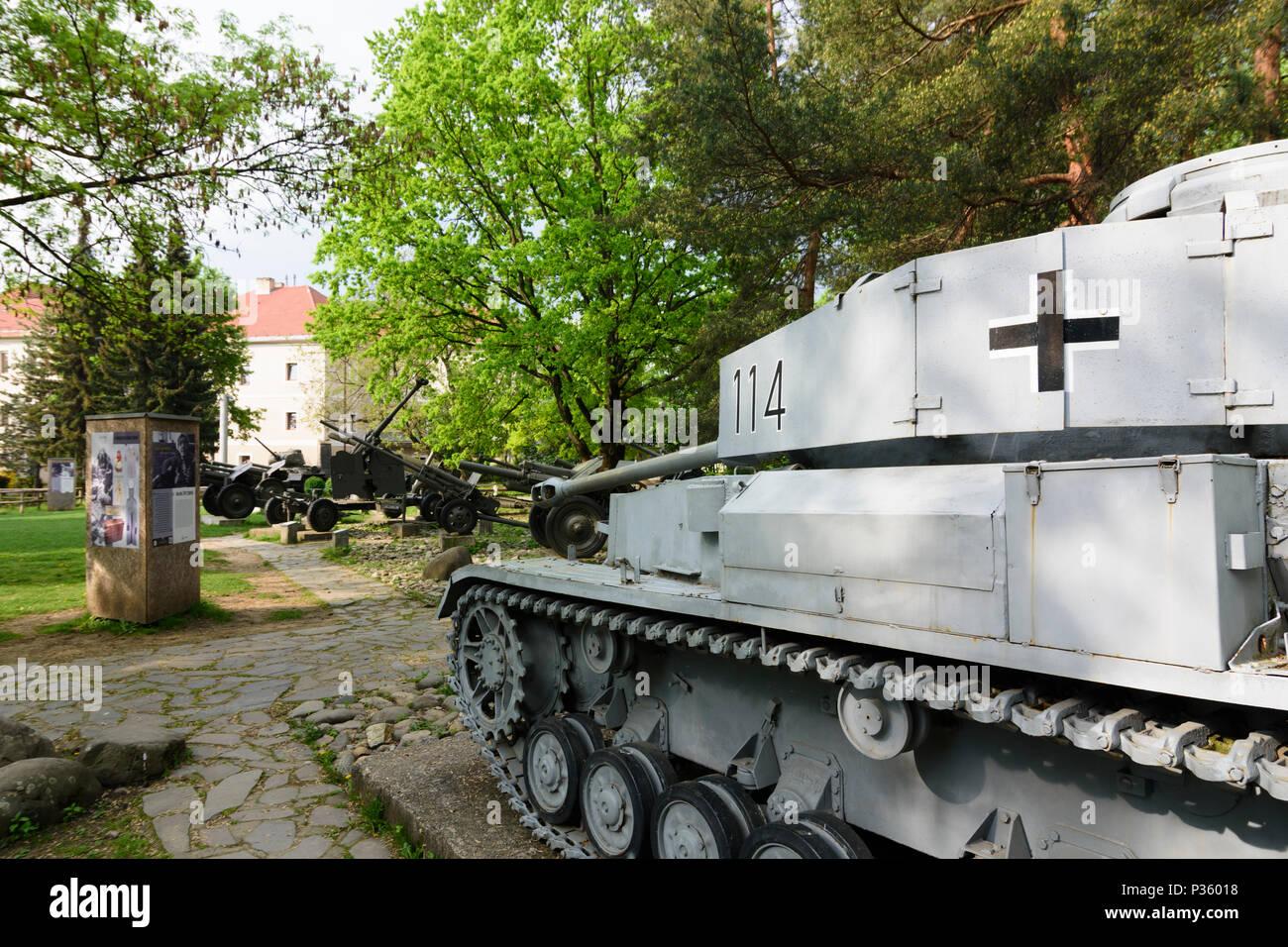Banska Bystrica (Neusohl): museum at the Memorial of the Slovak